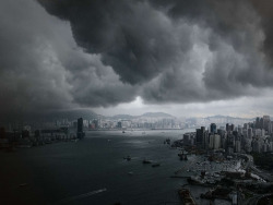 The start of Hong Kong's rainy season