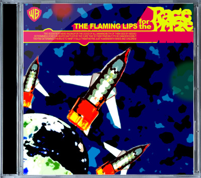 Flaming Lips fictional CD cover. The Mokran Mix is all kinds of awesome.