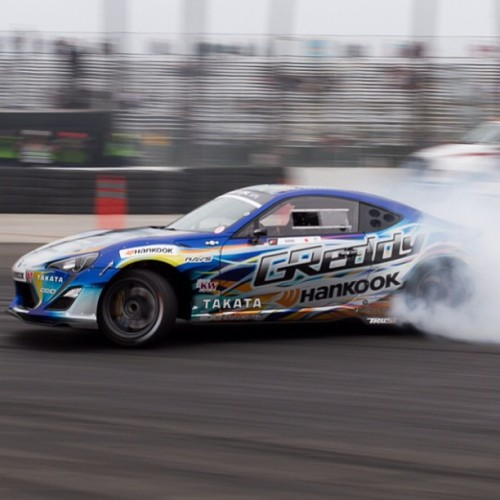 Ken Gushi #greddy #formuladrift #drift #scion #frs .  I can't wait for round 2 in Atlanta.