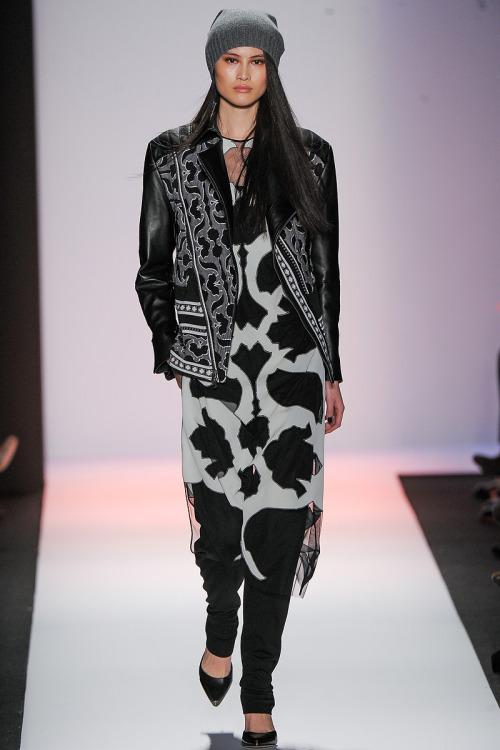 Sui He @ New York Model Management BCBG Max Azria, FW 2013, NYFW