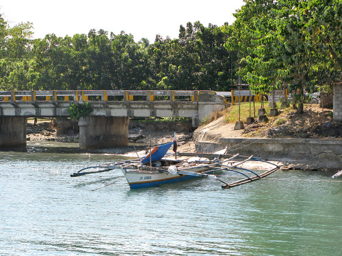 Fishing Boat at Macapagal-Durano Fish Port, Danao City, Cebu