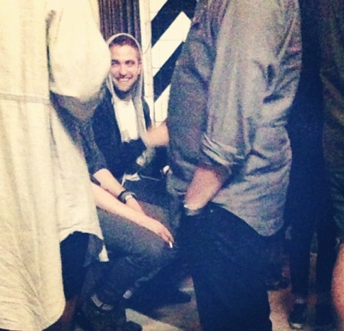 Rob at Kristens birthday party