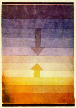 nezartdesign:  Paul Klee - Separation in the Evening (1922)