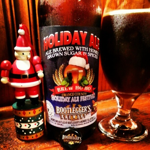 brewstagram:  Merry Christmas everyone! This beer is delicious! and by hemanpower http://instagr.am/p/TpwxTRuUn4/