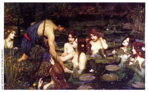 Hylas and the Nymphs (1896) - John William Waterhouse