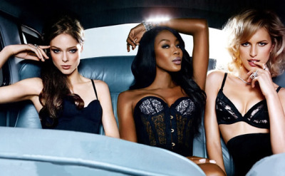 [The Canadian] Coco Rocha,[The Legend] Naomi Campbell,+ [The Look] Karolina Kurkova,for InStyle Magazine [March 2013]