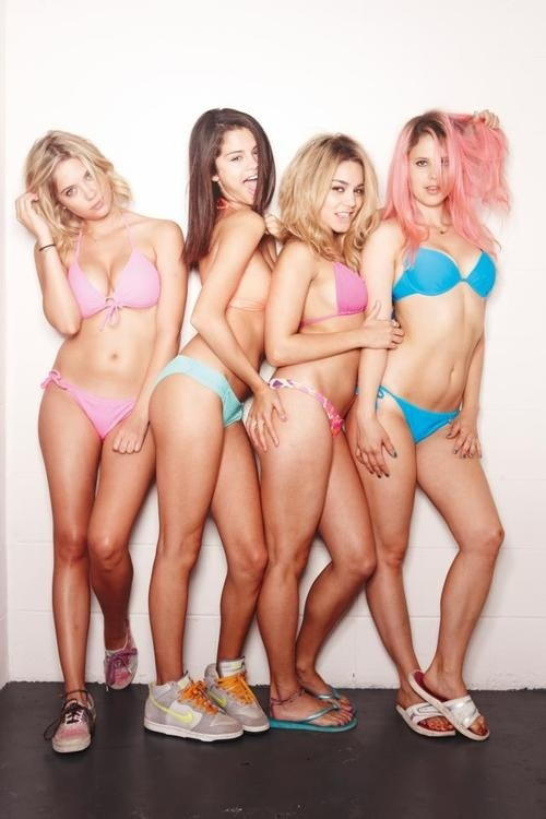 Spring Breakers. Can't wait to watch the movie.