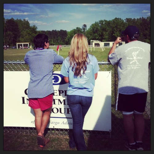 holyprepster:  At a soccer game with fraterpillar a while back
