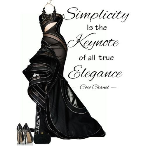 black elegance (girls,dress,girl,fashion,style,clothes,polyvore,our picks)