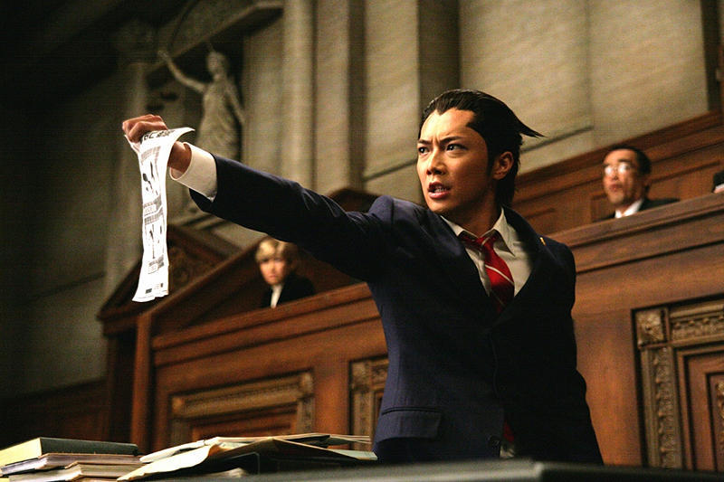 MOVIE: Ace Attorney Caught Ace Attorney in the Triskel on Friday. Was well worth the wait. Probably the best videogame adaptation I've ever seen! Everything was lovingly recreated: the soundtrack, character designs, set pieces… Even the opening moments packed quite a few comedic references; references you're sure to get ONLY if you had played the games. Turns out that this is the first Takashi Miike movie I have seen. I guess he's known for his more gruesome and oddball efforts, but the guy seems quite versatile.