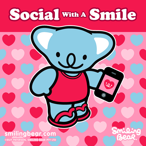 Be Social With A Smile http://bit.ly/SB_SOC
