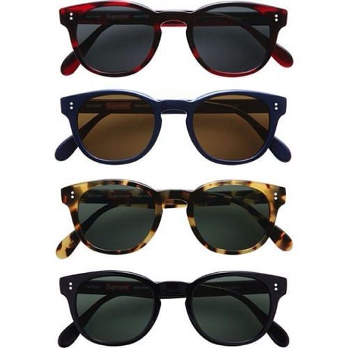 freshnessmag:  Supreme Sunglasses Collection (Factory) - Spring/Summer 2013 #supremenyc
