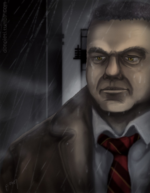Finished Heavy Rain today and I couldn't resist to draw some fanart! Tried to capture my favourite character, private investigator Scott Shelby. :3I can really recommend this game to you if you're into crime storys, it's a bit more like an interactive movie than a videogame but I enjoyed it very much!