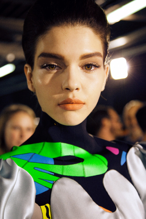 leacolombo:  Kate Bogucharskaia at MUGLER A/W13 by Lea Colombo