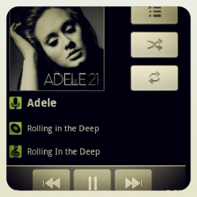 #ADELE to close this beautiful day.