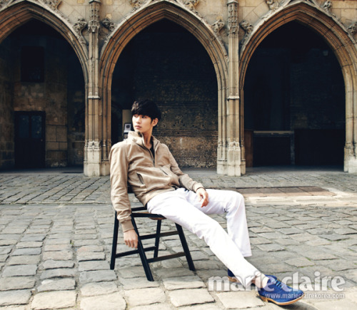 kmagazinelovers:  Kim Soo Hyun - Marie Claire Magazine May Issue '13