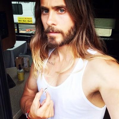 jaredleto:  Don't fuck with my #rOckETboY necklace. Xo #doordie