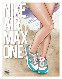 sneakerphotogrvphy:  Nike Air Max 1 by MoDraws81 on Flickr.
