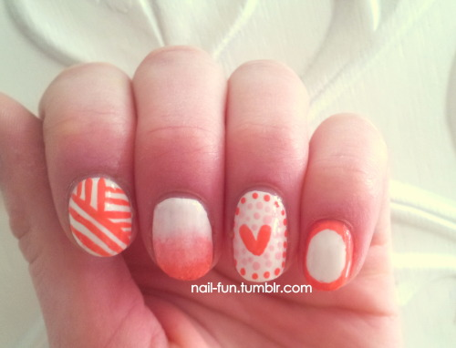 Nails for Valentine's Day ♥