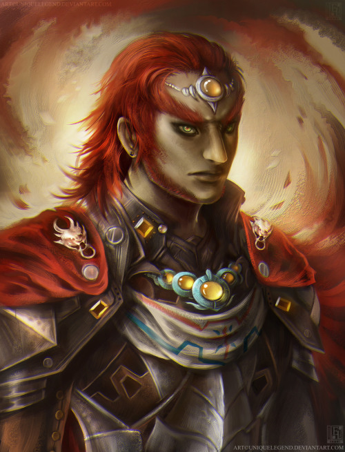 Ganondorf is now complete! This is a personal design of mine of a younger version of him from Ocarina of Time.