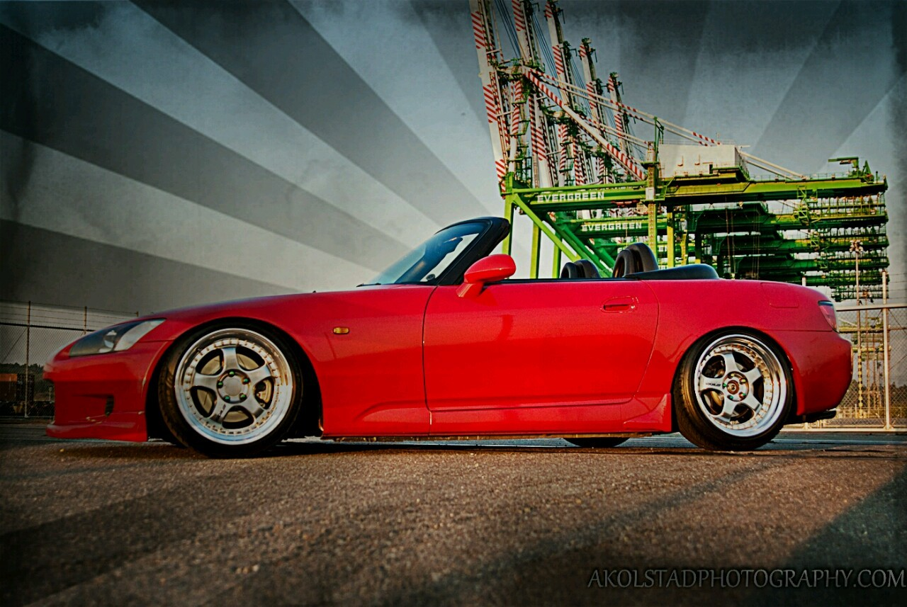 Honda S2000 shot for nw-built.com