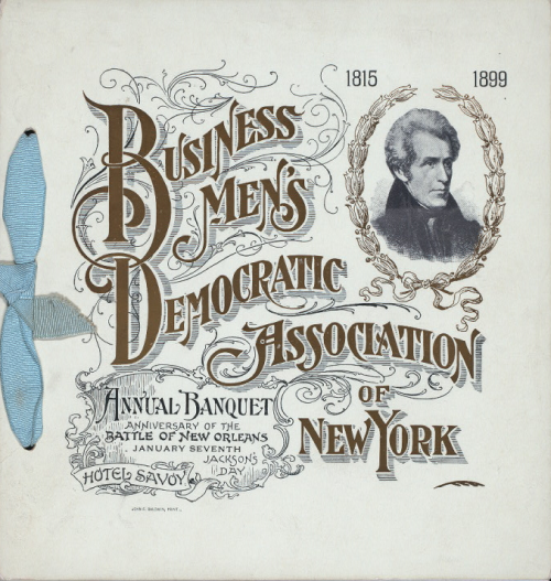 Business men's democratic association of New York