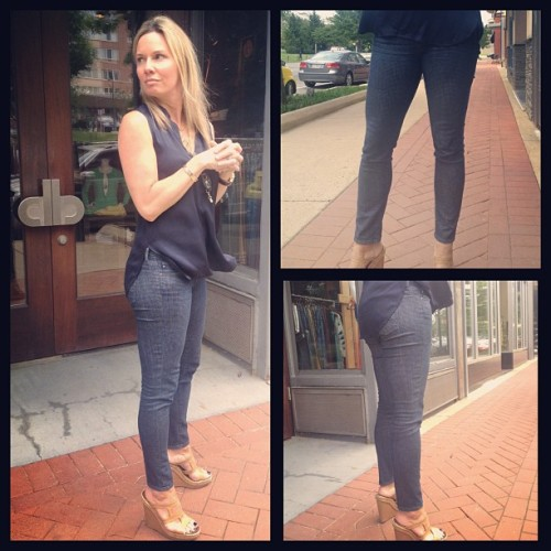 "#WDYWT / #WDIWT | AG ""The Legging Ankle"" 