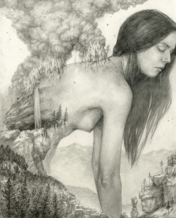 tdylanart:  T. Dylan Moore Like A Forest Scorched, I Will Be Reborn  Gorgeous art by T. Dylan Moore