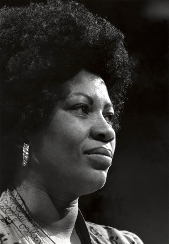 Happy 82nd Birthday Toni Morrison!!! Chester Higgins, Jr. captured her here sometime in the 1970s. Photo: Getty.