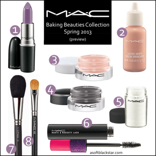 MAC Baking Beauties Collection, Spring 2013, click through for a list of products