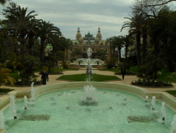 Monte Carlo Casino with fountains