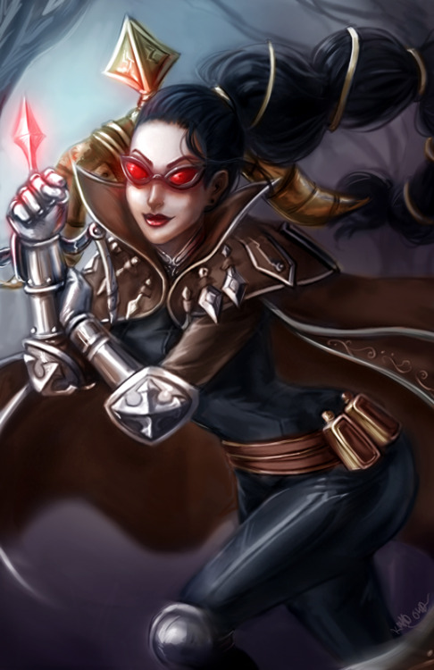 theriotleague:  .Vayne. THe Night Hunter by *Ka-ho