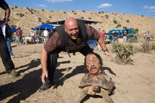 Dean Norris and Danny Trejo on Breaking Bad