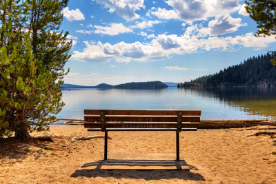 Peace on Payette Lake on Flickr.