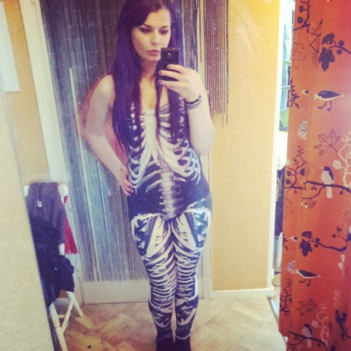 bitchslapbarbie:  - old pic - Oh how I love Black Milk <3
