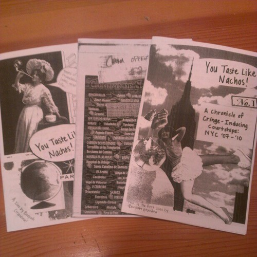rachelfershleiser:  Eeeeeee I have all the best zines! (via rachelfershleiser on Instagram) By Erin and Ami!  I read a couple of these by way of Pilot. They're amazing!