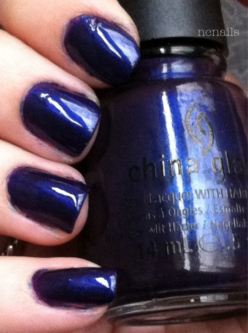 "Bizarre Blurple- China Glaze (Wicked Collection for Halloween, Fall 2012) This is a blue/purple duo chrome. It just dawned on me that the ""blurple"" in the name totally makes sense now, haha. The sun hasn't been out lately so this is what it looks like in natural light, but not in the sun. Here is an old picture I had of it in a brighter light This color, I also believe is a dupe for Tomorrow Never Dies by OPI from the Skyfall collection. I was literally in line with it in hand when I saw the same exact color but by China Glaze AND on clearance. So I was sold.  *Comparison courtesy of Colorfulcrack.com Find the full comparison here."