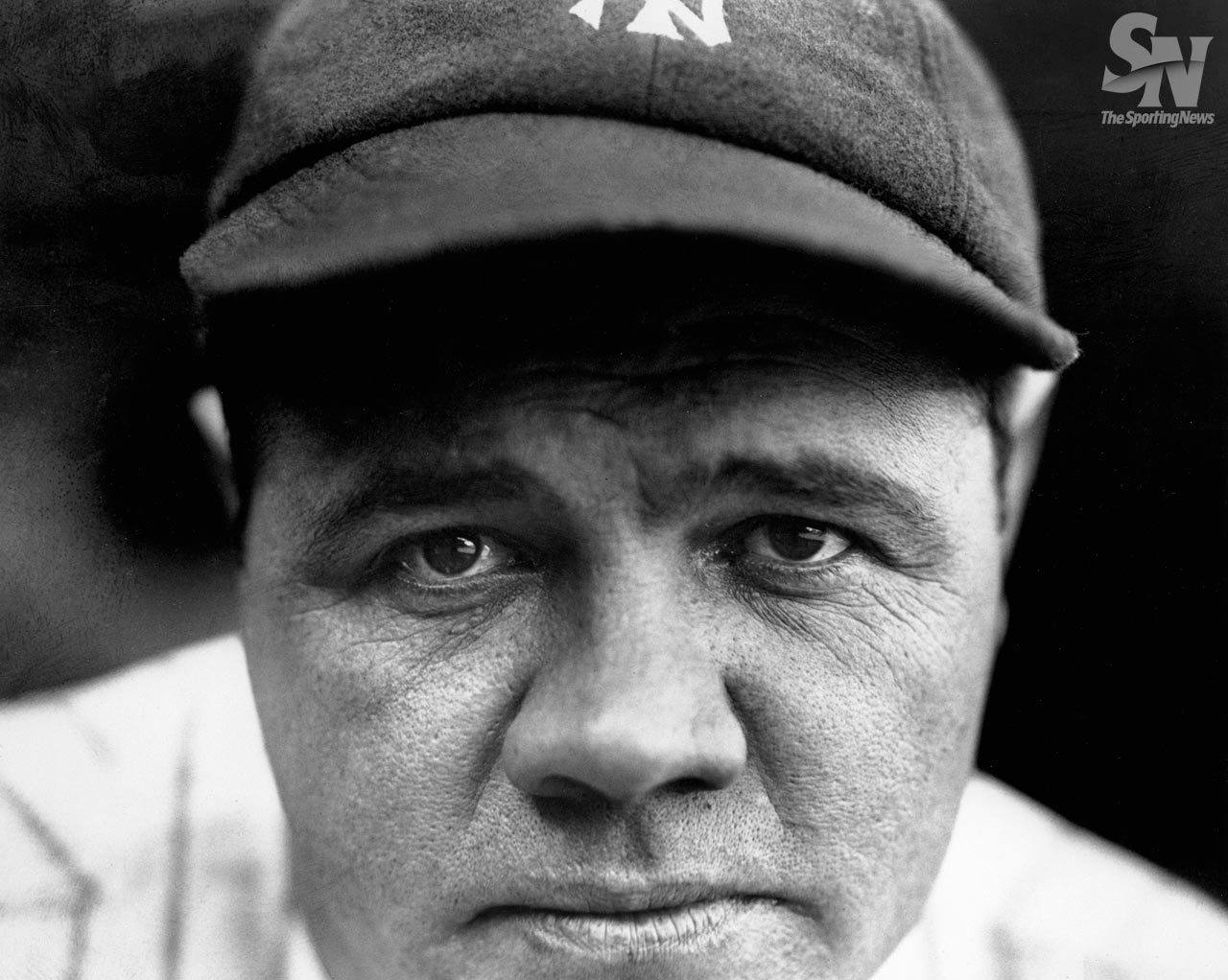"photographersdirectory:  New York Yankees Babe Ruth in 1927. (Charles M. Conlon/Sporting News) I am the senior photo editor at Sporting News.  I have been with Sporting News for more than 15 years.  The Sporting News was founded in 1886 and acquired the nickname ""The Bible of Baseball"".  Or photo archives include hundreds of thousands of photographs dating back almost a hundred years.  Our most famous photographer in our collection is Charles M. Conlon.  Conlon took thousands of portraits of major league baseball players. His most famous photos are an action shot of Ty Cobb sliding into third base and this stunning closeup of Babe Ruth. As curator of the Sporting News Archive Tumblr http://sportingnewsarchive.tumblr.com/page/6   I post historical photographs from our archives as well as current day photographs.  The Sporting News Archive Tumblr is the place to remember the history of sports as well as experience today's history making sporting events all through the lens of the sports photographer. - Paul Nisely"
