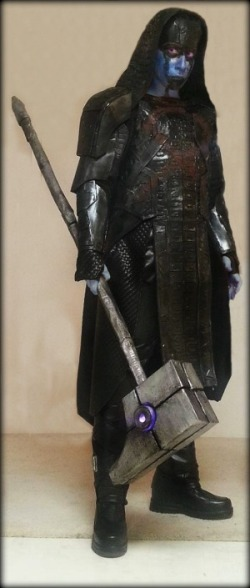 fallynangel:  necroticnymph:  nashcon-castiel:  Ronan the Accuser - Guardians of the Galaxy  I HAVE BEEN FOLLOWING HER PROGRESS ON THIS ON FB FOR WEEKS AND LOOK HOW INCREDIBLE SHE LOOKS!Wowee. Just. How?!?!  Everyone should stop and just see this! Passion, creativity, and drive! Cosplay at its finest!