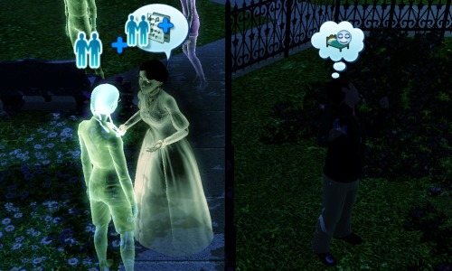 so I'm really diggin' ghost sims