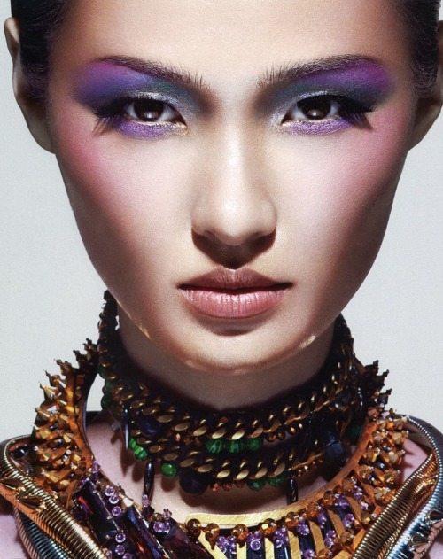 leahcultice:  Wang Xiao by Charles Guo for Numero China December 2012