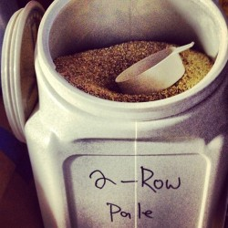 Let's add some 2-row… Shall we? #homebrew #bigbrew13 #sundayfunday