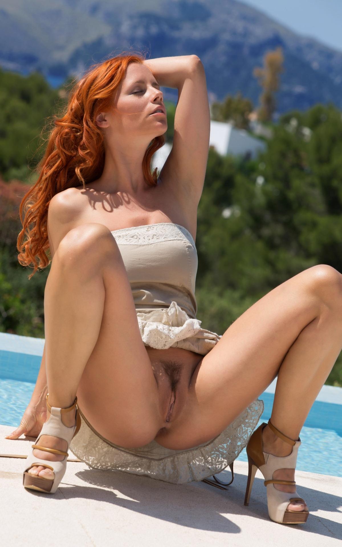 Redhead outdoor