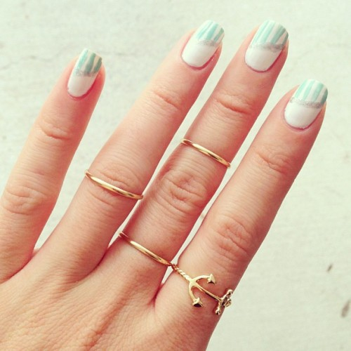 saboskirt:  All of these amazing, delicate gold rings are available now at saboskirt.com! #saboskirt