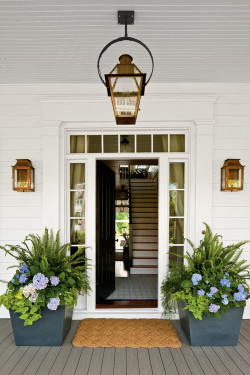 georgianadesign:  Southern Living Idea House, Senoia, GA. Historical Concepts.
