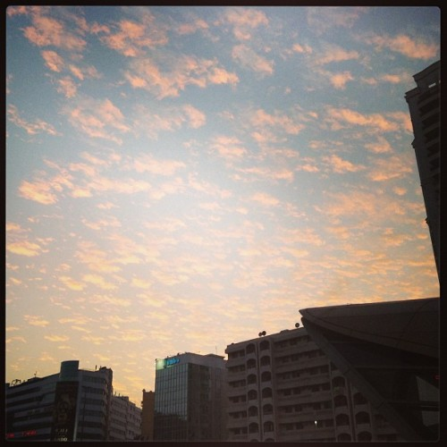 #clouds #sky #sunset #city