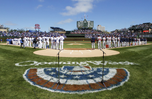 Opening Day at Wrigley Field is just three months away!