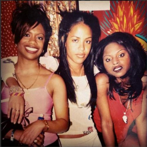 itsloudinsidemyhead:  Kandi, Aaliyah and Foxy Brown Photo Credit: Kandi Burruss/ Instagram