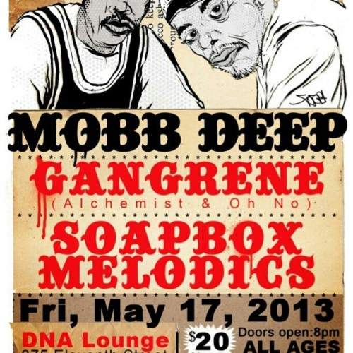 My #rdv fam #shamakonoble rockin w @soapboxmelodics #mobbdeep now #SanFrancisco #dnalounge #HipHopCongress #rondavouxrecords