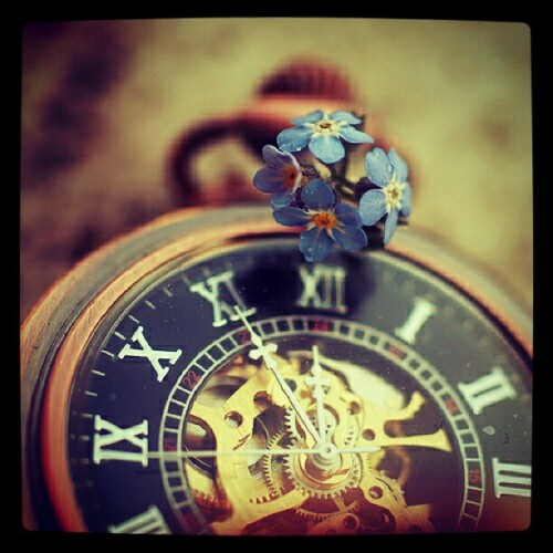 shinebright-like-a-diamonds:  #clock #old #flower #vintage #cute #photograph #xpro #filter #instabest #igdaily #igers #pictoftheday #bestpict